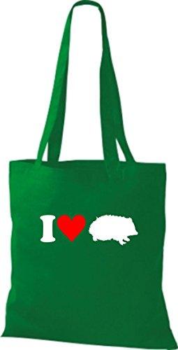 Shirtstown - Bolso de asas para mujer verde - kelly