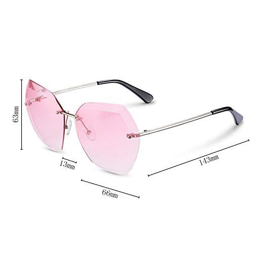 CJJC pour Pink Simple Dames de Conduite Protection Bleu UV Voyager présent Lunettes Lunettes Soleil de Rose Femme Mode Shopping polarisées idéal Soleil rrSO1q