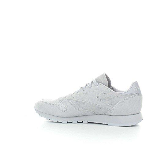 nbsp;Chaussures Grey Sportives gris Cloud nbsp;– nbsp; Cloud femme Reebok NBK CL Rain LTHR nbsp;– wRqxZqHI
