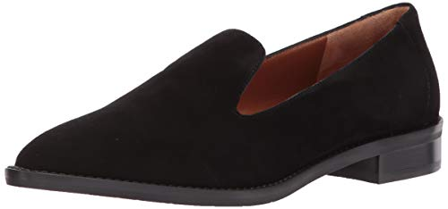 Aquatalia Women's Golda Suede Shoe, Black, 8.5 M US