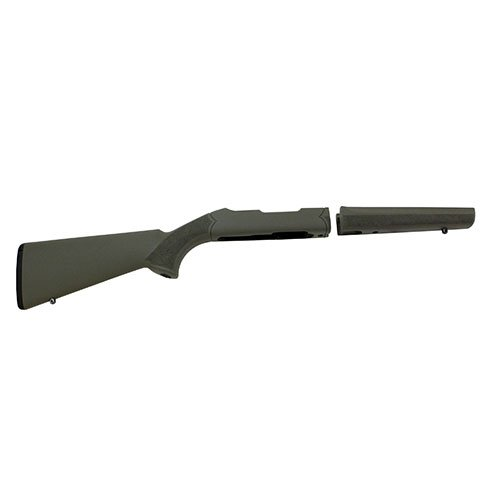 Hogue 21250 10/22 OverMolded Stock, Takedown.920 Barrel, Olive Drab Green