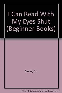Paperback I Can Read with My Eyes Shut! Book