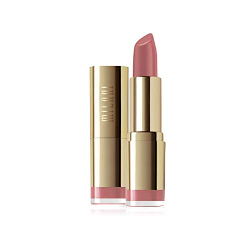 Milani Color Statement Lipstick - Rose Femme (0.14 Ounce) Cruelty-Free Nourishing Lipstick in Vibrant Shades