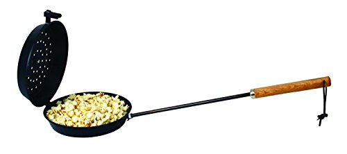 Campfire Cooking Equipment For Cooking On Sticks - Texsport Non-Stick Popcorn Popper