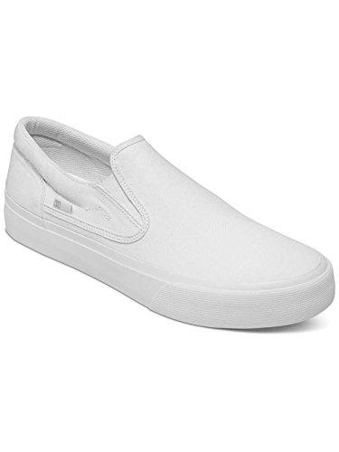 bianco M bianco DC Slip Mocassini Uomo Shoe Bianco da Trase BKW T on 77wF6xfIqH