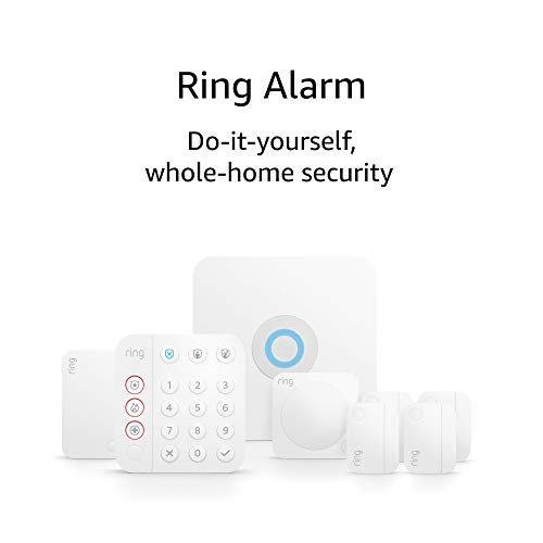 Ring Alarm 8-piece package (2d Gen) – domestic safety device with not obligatory 24/7 skilled tracking – Works with Alexa