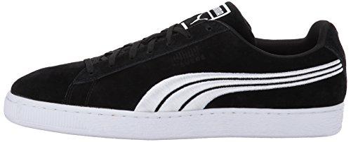Badge Classic Noir Garçon Black Pour Mode Suede White Baskets Puma ZSWwqOT5