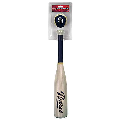 Jarden Sports Licensing MLB San Diego Padres Grandslam Bat and Ball, Blue
