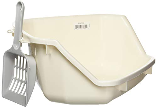 IRIS USA 586295 IRIS Small Animal Litter Pan, White