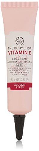 The Body Shop Vitamin E Eye Cream, Paraben-Free, 0.5 Oz.