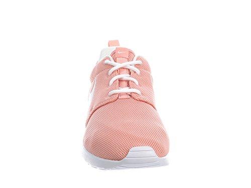Roshe Uno De Nylon Zapatos Corrientes De Las Mujeres Nike Polvo De Estrellas De Coral / Blanco Barato Venta Professional Wiki Barato en línea 2YJd17N9