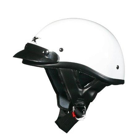 AFX FX-70 Unisex-Adult Half-Size-Helmet-Style Beanie Helmet (White, XX-Large)
