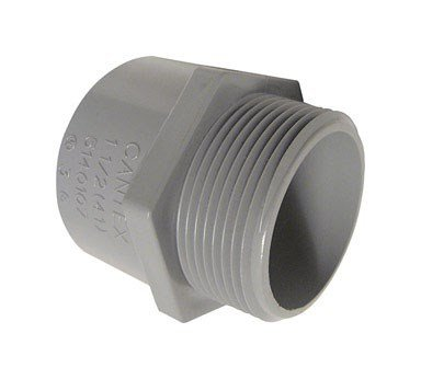 Cantex Pvc Male Terminal Adapter Threaded 1-1/2