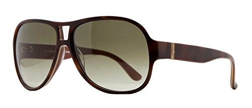 Salvatore Ferragamo Sunglasses SF623S 222 Light Havana - Ferragamo Sunglasses Aviator