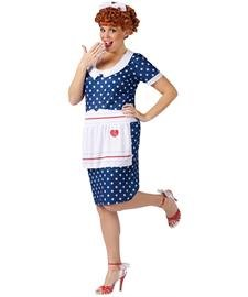 Celebrities Costumes (I Love Lucy Sassy Plus Size Adult Costume - Plus Size 1X/2X)