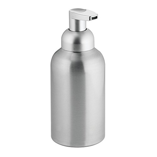 InterDesign Rustproof Aluminum Dispenser Bathroom