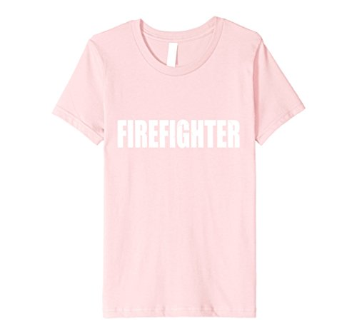 Kids Firefighter T Shirt Halloween Costume Funny Retro Distressed 6 - Costume Halloween Retro