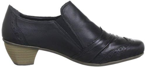 41763 Noir schwarz Femme Chaussons 00 Rieker dnR0CY0