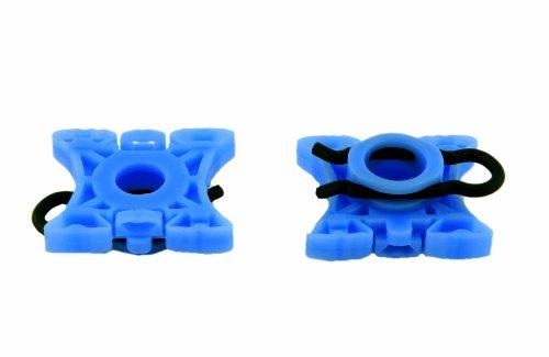 (Volvo 3509416 Sliding Jaw Window Regulator Pivot Two (2) Piece Kit | Volvo 740 940 960 S60 S80 S90 V70 XC90 | MTC VP904)