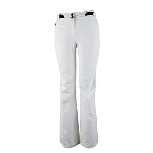 Obermeyer Warrior Short Womens Ski Pants - 12 Short/White by Obermeyer