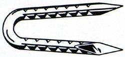 Grip Rite 2HGFS 50 lb Galvanized Fence Staple, 2''