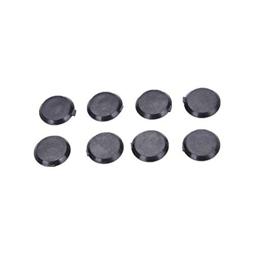 Hex Socket Allen Bolt Screw Nut Black Hexagon Head Cover Cap Protector 100PCS M6