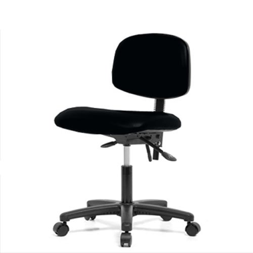 Perch Rolling Lab Chair With Adjustable Back Support For Medical Dental Offic