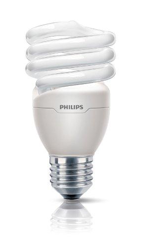 Philips Ampoule FluoCompacte Spirale Culot E27 20 Watts Consommés Équivalence Incandescence : 88W