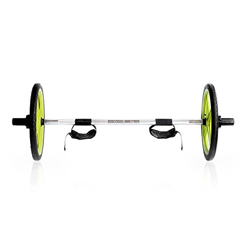 AXLE Versatile Olympic Barbell | with Optional Weighted Olympic Plate Loading | Fully Collapsible