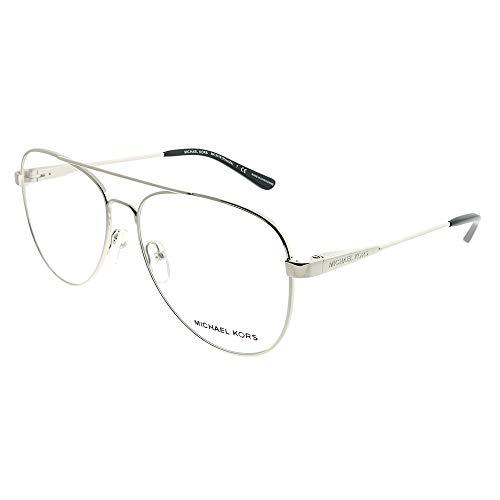 Michael Kors Eyeglasses Procida MK3019 MK/3019 1118 Silver Optical Frame ()