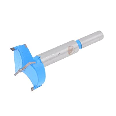 uxcell 53mm Dia Hinge Boring Forstner Drill Bit, 10mm x 30mm Shank