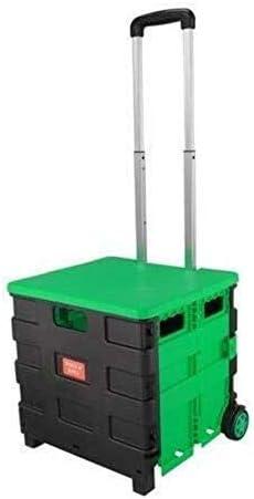 WSJ Home Carrito de Compras Plegable Trolley Portátil Pack & Roll ...