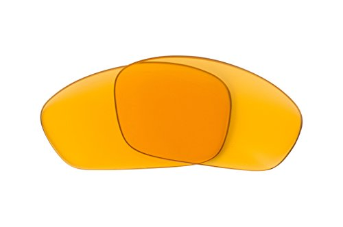 Best SEEK Replacement Lenses Oakley STRAIGHT JACKET - Polarized Hi Intensity Yellow by Seek Optics