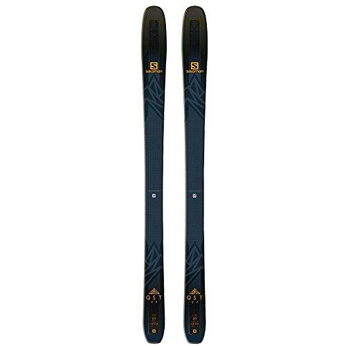 Salomon QST 99 Skis Black/Saffron Mens Sz 167cm