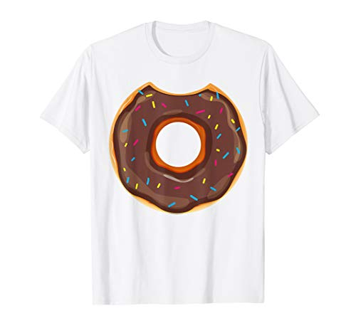 Cool Donut Halloween Doughnut Costume Shirt Candy Food Gift -