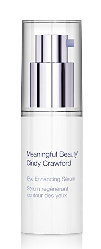 Meaningful Beauty Eye - Meaningful Beauty by Cindy Crawford – Eye Enhancing Serum – Anti-Wrinkle Hydrating Formula – 0.5 Fluid Ounce – MT.0382