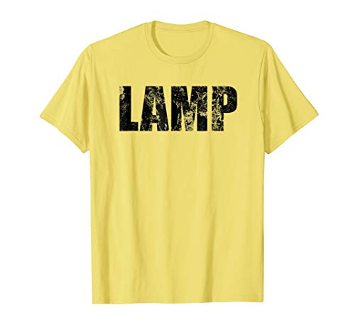 Lamp Costume Moth Meme Couple Fun Halloween Party T-Shirt -