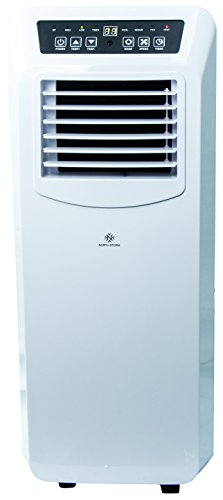 North Storm Portable Air Conditioner, 4-In-1 Heater, Fan, Dehumidifier, AC - 14,000 BTU - White