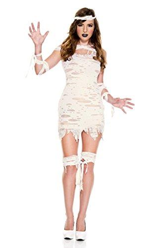 Miss Mummy Adult Costume - Medium/Large ()