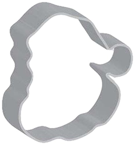 Flavortools Christmas Santa Face Cookie Cutter with Exclusive Flavortools Copyrighted Cookie Recipe Booklet, 4-1/4-Inch