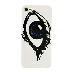 JJEPunk Big Eye Pattern Plastic Hard Case for iPhone 5/5S