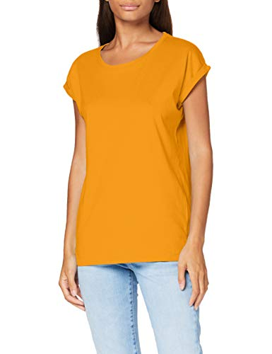Build Your Brand dames t-shirt Ladies Extended Shoulder Tee
