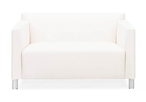 Hedron Bariatric Loveseat (Onyx in Messenger Pattern) ()