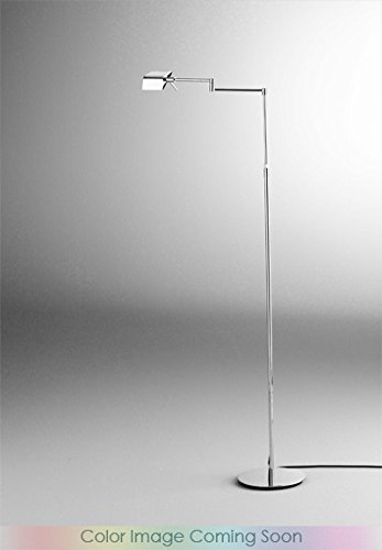 Holtkoetter 9680LEDP1 HBOB LED Low-Voltage Swing-Arm Floor Lamp with Dimm-System P1, Hand-Brushed Old Bronze, 8