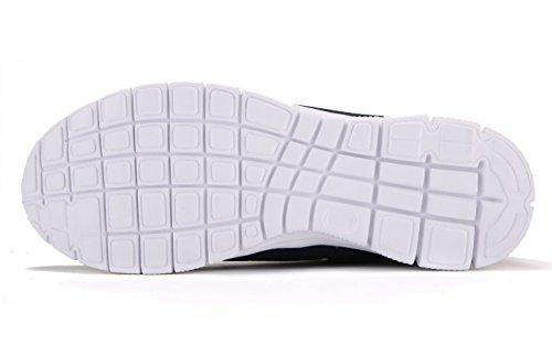 JUAN Athletic Laufschuhe Mode Turnschuhe Fitness Schuhe Casual Mesh Weiche Sohle Leichte Atmungsaktiv Blau