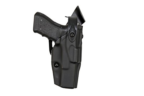(Safariland 6360 Level 3 Retention ALS Duty Mid Ride Holster, Black, Right Hand, Glock 34, 35)