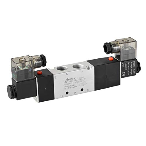 (uxcell DC 24V 5 Way 3 Position 3/8