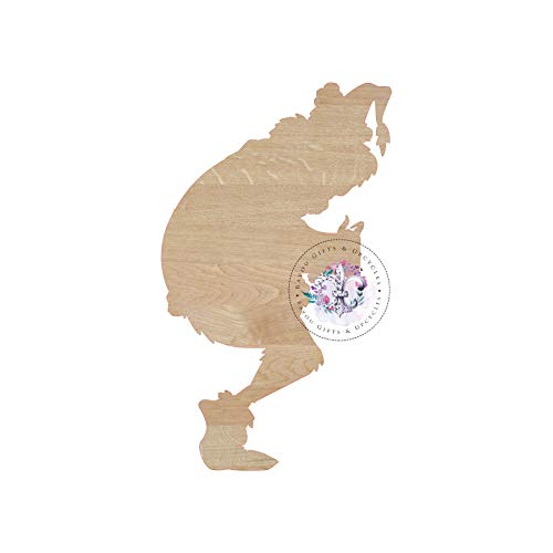 MarthaFox Grinch That Stole Christmas Wooden Cutout Unfinished Wooden Blanks Wooden Shapes Wooden Wreath Shapes Wooden Door Hangers Shape Blanks]()