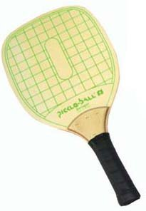 Pickleball swinger wood paddle picture 991