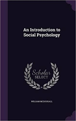 Book An Introduction to Social Psychology